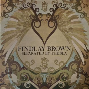 Findlay Brown ‎- Separated By The Sea (LP) (VG-/VG)